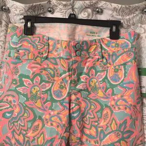 NWT Lilly pulitzer worth skinny mini pants